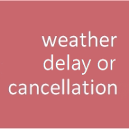Weather Cancellations